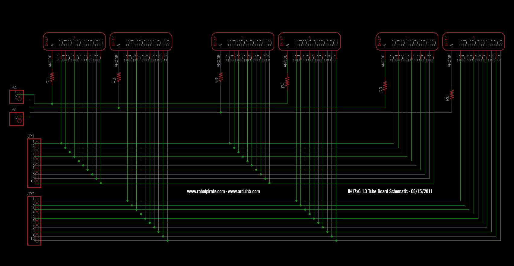 Nixie clock the schematics for the shield itself are here there are code samples provided on the arduinix website which implement the truth table of the drivers plus greentooth Choice Image